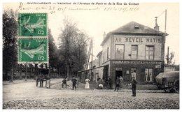 91 - MONTGERON -- Carrefour De L'Avenue De Paris Et De - Montgeron