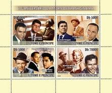 S. TOME & PRINCIPE 2008 - F. Sinatra, J.F. Kennedy - YT 2461-6