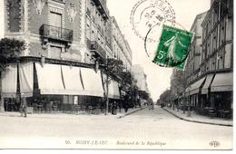 Seine Saint-Denis : Nosy Le Sec : Boulevard De La République - Noisy Le Sec