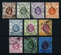 Hong Kong (Británico) - LOTE (10 Sellos)  En Usado - Hong Kong (...-1997)