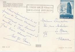 Vaticano 1966 - Flamme Synodo Vatican II Synode - Marcophilie - EMA (Empreintes Machines)
