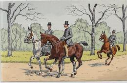 CPA Cheval Horse Non Circulé éditeur HC Paris Sans Numéro - Autres Illustrateurs