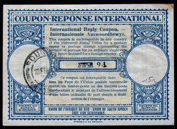 AFRIQUE DU SUD  International Reply Coupon / Coupon Réponse International - Afrique Du Sud (1961-...)