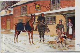 CPA Cheval Horse Non Circulé Oilette Tuck - Autres Illustrateurs
