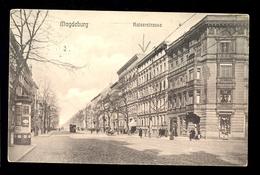Magdeburg - Kaiserstrasse / Postcard Circulated, 2 Scans - Magdeburg