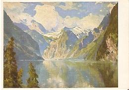 Postal Pintura. Hamis Maurus: Konigsee. (ref. 74-3) - Postales