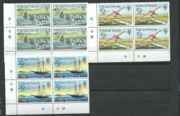 Falkland -  Serie  Yvert N° 290 / 292 ** Bloc De 4   -   Aab11801 - Falkland Islands
