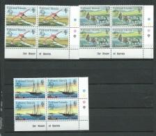 Falkland -  Serie  Yvert N° 290 / 292 ** Bloc De 4   -   Aab11802 - Falkland Islands