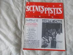SCENES ET PISTES La Revue Des Spectacles De Variétés Et Des Gens Du Voyage N° 273 Janvier Février 1986 - Books, Magazines, Comics