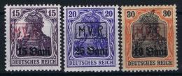Reich Rumaniën.  Mi Nr 1 - 3   MNH/**/postfrisch/neuf Sans Charniere  MVR - Occupation 1914-18