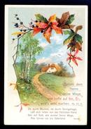 Landscape / Postcard Circulated, 2 Scans - Peintures & Tableaux