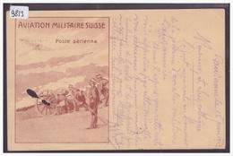 AVIATION MILITAIRE SUISSE - POSTE AERIENNE - VOL LAUSANNE MORGES 15.VI.1913 - TB - Schweiz