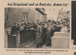 'A. Hitler Auf Helgoland' - Hamburger Fremdenblatt 1939 - Helgoland