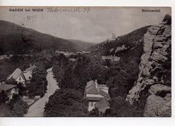 CPA.Autriche.Baden Bei Wien.1939.Helental. - Baden Bei Wien