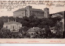 CPA.Autriche.Voslau.Grand Hôtel Bellevue - Baden Bei Wien