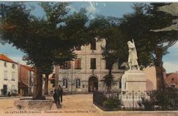 """Carte Postale La Cavalerie """" Monument Aux Morts Et Hotel De Ville """" - La Cavalerie"""