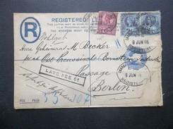 Great Britain: 1896 Registered Letter To Berlin (#EN5)