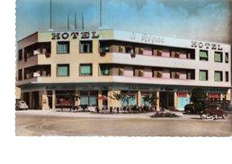 MAROC---RARE En Couleur--AGADIR--l'hôtel Régina--(commerces Maroc Presse-garage Opel ) -voir 2 Scans - Agadir