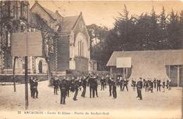 33-ARCACHON- ECOLE ST-ELME- PARTIE DE BASKET-BALL - Arcachon