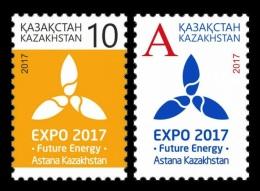 Kazakhstan 2017 Mih. 1011/12 EXPO-2017 In Astana (II) MNH **