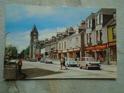 D147663 Scotland  High Street -  BANCHORY  -automobile Cars - Kincardineshire