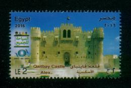 EGYPT / 2016 / UN / UNWTO / OMT / IOHBTO / WORLD TOURISM DAY / TOURISM FOR ALL / QAITBAY CASTLE ; ALEX. / MNH / VF - Egipto