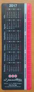 2017. ZARAGOZA. CALENDARIO DE PUBLICIDAD. - Calendarios