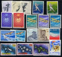 ST-MARIN SAN MARINO 1978, Année Complète Poste Et Poste Aérienne, 19 Valeurs, Neufs** / Mint**. - Saint-Marin
