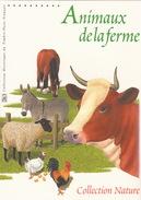BLOC FEUILLET ANIMAUX DE LA FERME - OBLITERATION RONDE 1er JOUR LA POULE PARIS 24.04.2004-  DOCUMENT DE LA POSTE - Documentos Del Correo