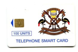 Used Card From Uganda - Uganda