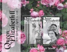 Aitutaki - Postfris / MNH - Sheet 90e Verjaardag Koningin Elizabeth 2016 - Aitutaki