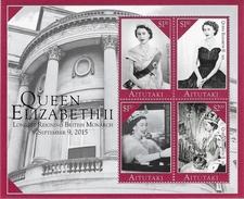 Aitutaki - Postfris / MNH - Sheet Koningin Elizabeth 2015 - Aitutaki