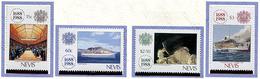 Nevis ** N° 496 à 499 - Tricent. De La Cie D'assurances Lloyd. Navires Et Divers - - Central America