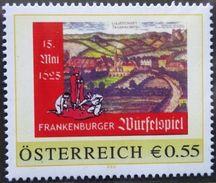 8003315 - PM - PERSONALISIERTE MARKE - €-ZEICHEN - FRANKENBURGER WÜRFELSPIEL ** - Österreich