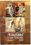 Aitutaki - Postfris / MNH - Sheet Pasen 2015 - Aitutaki