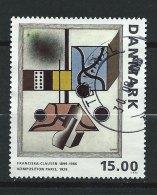 DANEMARK - N° 1072 - Tableaux De Peintres Danois Contemporains - O - Danemark