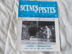 SCENES ET PISTES La Revue Des Spectacles De Variétés Et Des Gens Du Voyage N° 219 Janvier Février 1979 - Books, Magazines, Comics