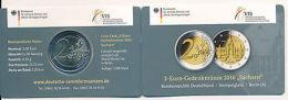 Deutschland 2016 A - 8. Offizielle Coin Card - 2 Euro Gedenkmünze Sachsen - Germany