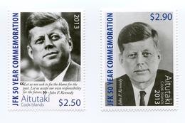 Aitutaki - Postfris / MNH - Complete Set John F. Kennedy 2013 - Aitutaki