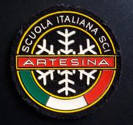 PATCH-TOPPA - DISTINTIVO IN TESSUTO - SCUOLA ITALIANA SCI - ARTESINA (CUNEO) - Sport Invernali