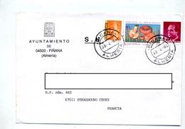 Lettre Cachet Finana Sur Champignon - Poststempel - Freistempel