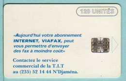 Télécarte Tchad - Internet - 120 Unités