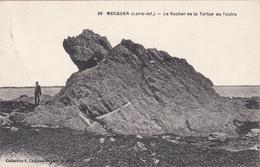 CPA- N° 38 - MESQUER - Le Rocher De La Tortue Au Toulru - Mesquer Quimiac