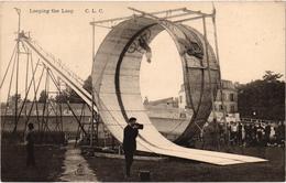 LOOPING THE LOOP - Au Premier Plan Un Photographe - Très Bon état - Très Belle Carte - Circus