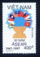 Vietnam Viet Nam MNH Perf Stamp 1997 : 30th Foundation Anniversary Of ASEAN (Ms762) - Viêt-Nam
