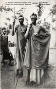 RWANDA - MUSINGA, Roi Du RUANDA - Est Africain Allemand (Occupation Belge) Carte En Très Bon état - Rwanda