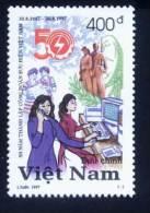 Vietnam Viet Nam MNH Perf Stamp 1997 : 50th Foundation Anniversary Of Viet Nam National Union ò Post (Ms763) - Viêt-Nam