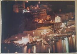 PONZA (Latina) - Il Porto - Notturno - Italy
