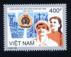 Vietnam MNH Perf Stamp 1998 : 8th Congress Of Viet Nam Federation Trade Union (Ms790) - Viêt-Nam