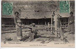 Laos : Carte De 1907 Oblitérée De PAC - HIN - BOUN - Briefe U. Dokumente